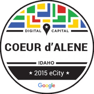 Google Names Coeur d'Alene as Idaho's E-City