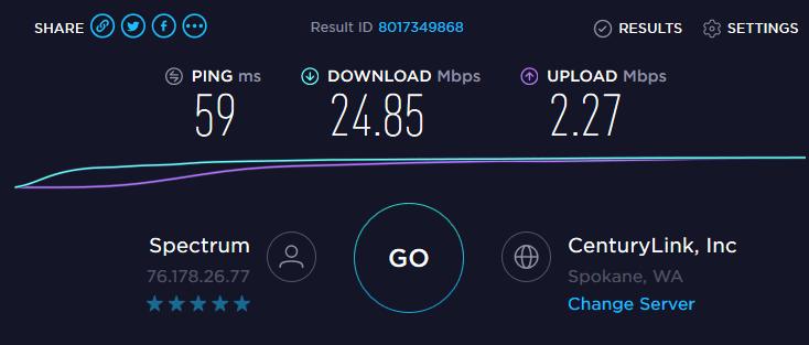 Spectrum ping 2   Intermax Networks