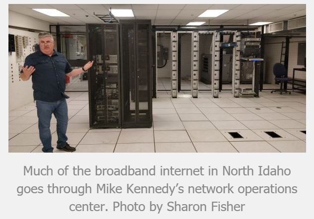Intermax Helps Bring Broadband Internet to Rural North idaho